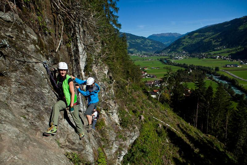 Klettersteig Zimmereben : Klettersteig touren mit bergführer